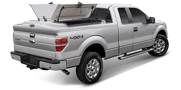 Starting at $1,450 MSRP, A.R.E.'s WorkCover LS features two doors on each side. (PHOTO: A.R.E.)