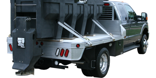 Buyers Products poly electric SaltDogg spreader. (PHOTO: Buyers)