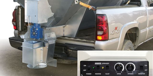 Hinker'snew dual-motor electric spreadersprovide individual variable speed control for the...