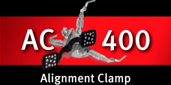 Touchless Alignment Wheel Clamp