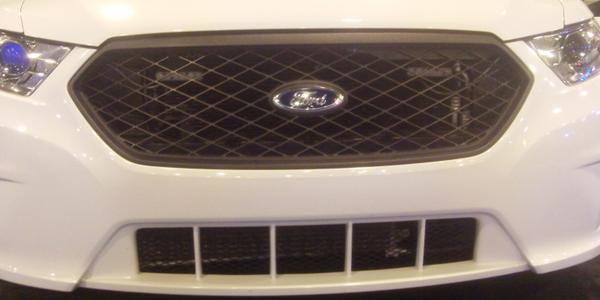 Ford Police Interceptor Transmission Cooler Protector