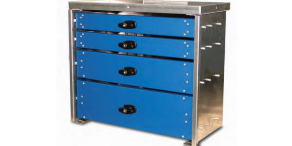 Aluminum Series Drawer Set