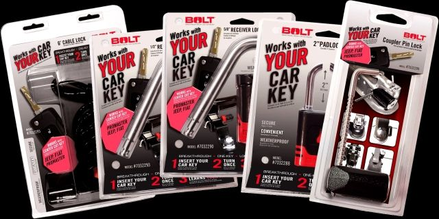 BOLT Locks are now available for Ram ProMaster vans. Photo courtesy of BOLT Lock -