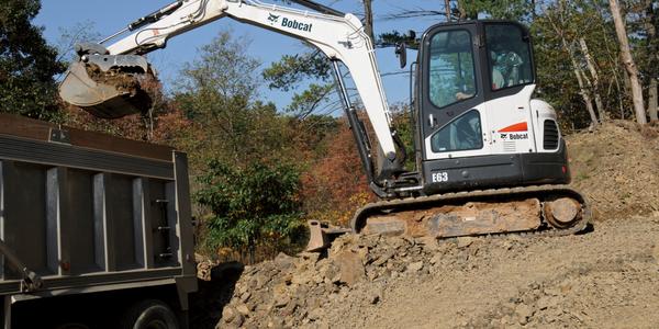 E63 Compact Excavator