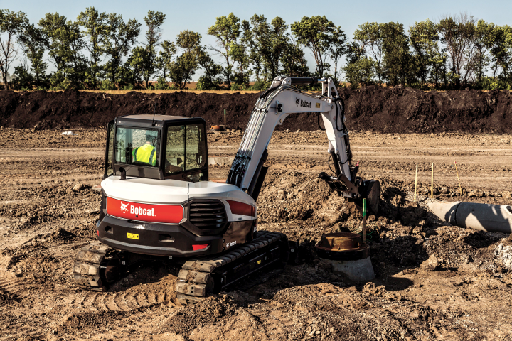 Bobcat Company E85 compact excavator. Photo courtesy of Bobcat -