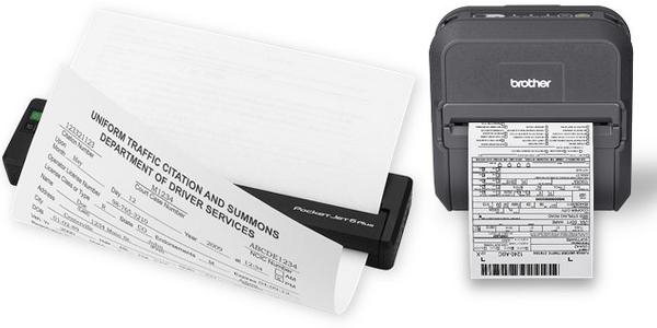 eCitation Mobile Printers