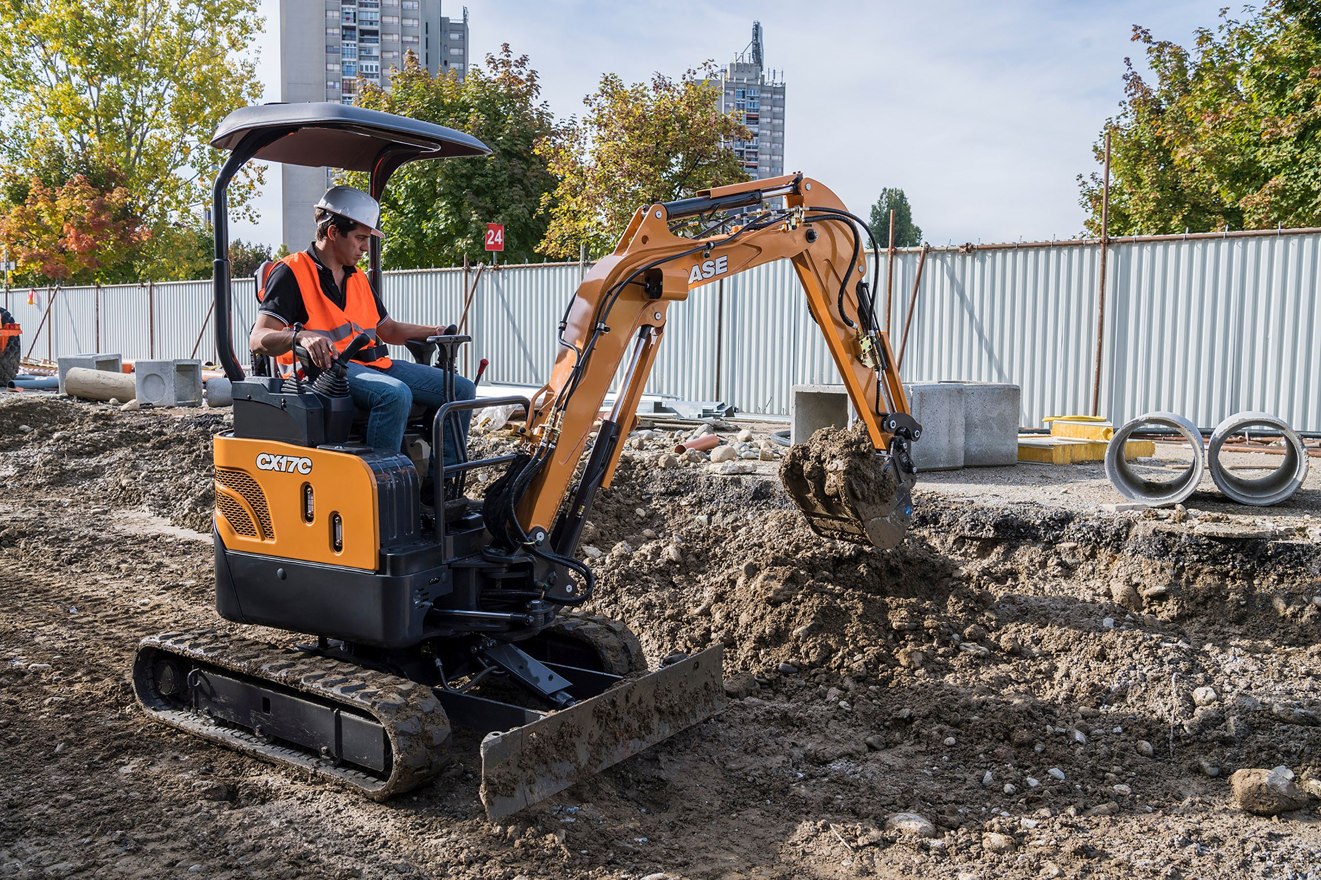 C-Series Mini Excavators
