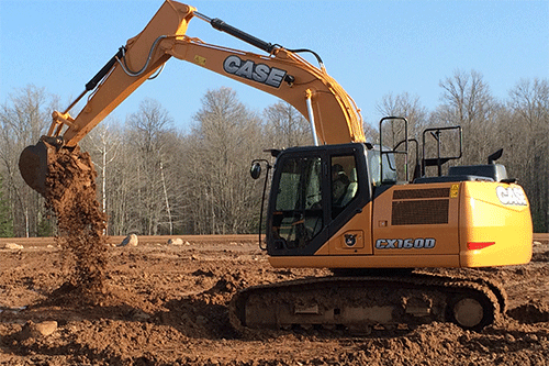 CX130D and CX160D Excavators