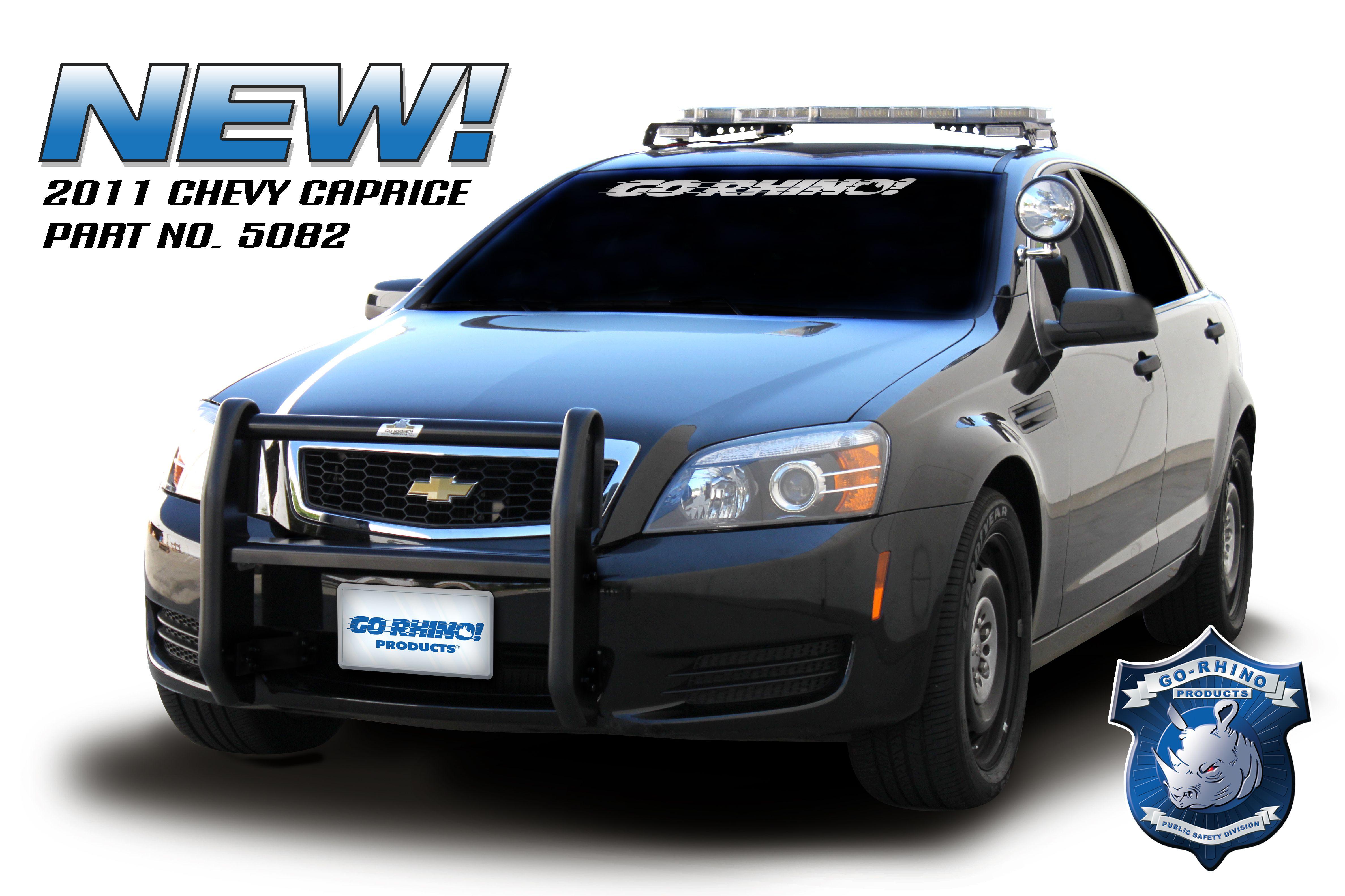 Chevrolet Caprice PPV Push Bumper
