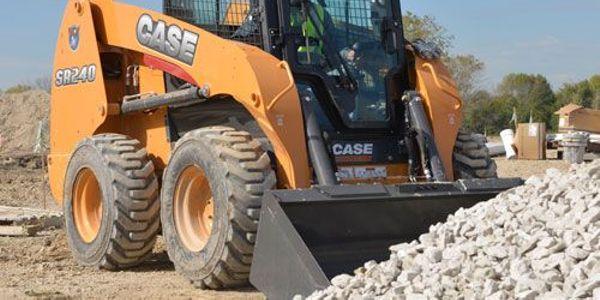 Case's SR240 skid-steer loader. Photo courtesy of Case