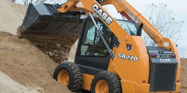 Case SR270 skid steer. Photo courtesy of Case
