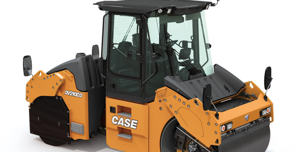 Case Construction Equipment's DV210CD. Photo courtesy of Case Construction Equipment