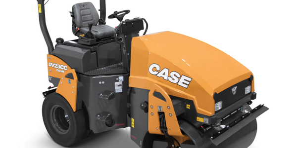 Case Construction Equipment's DV23CC combination vibratory roller. Photo courtesy of Case...