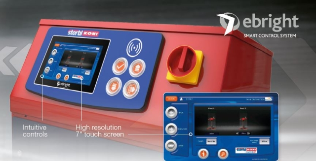 Image of ebright system courtesy of Stertil-Koni. -