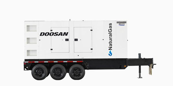 Doosan Portable Power Generator Natural Gas Model NG225. (PHOTO: Doosan)