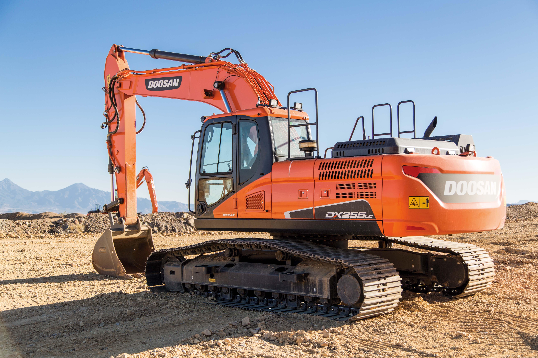 DX255LC Crawler Excavator