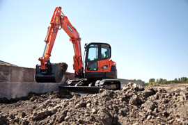 DX63 and DX85R Excavators