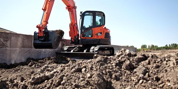 DX85R-3 excavator