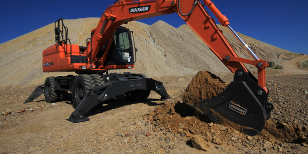 DX140W Wheel Excavator