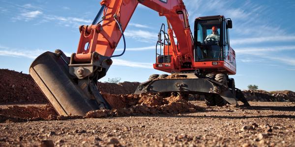 DX190W Wheel Excavator