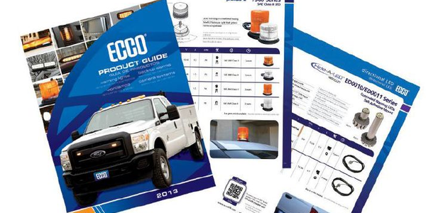 The 2013 ECCO Product Guide features more than 20 new products.