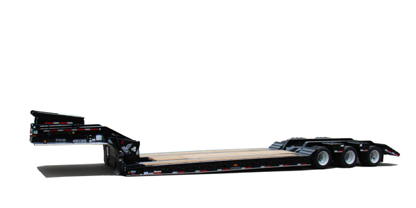 Hydraulic Detachable Gooseneck with Oilfield Beavertail Trailer