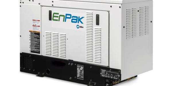 EnPak Diesel Generator and Air Compressor