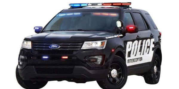 Ford P.I. Utility Lights, Sirens
