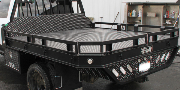 Strongback Flatbed for Pickups