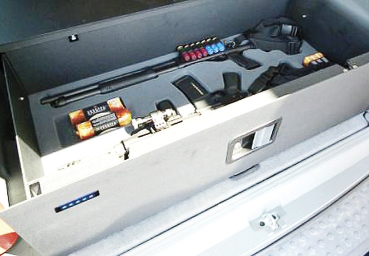 Police Weapon Vaults