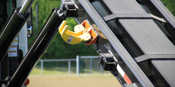 Roll-Off Container Locking System