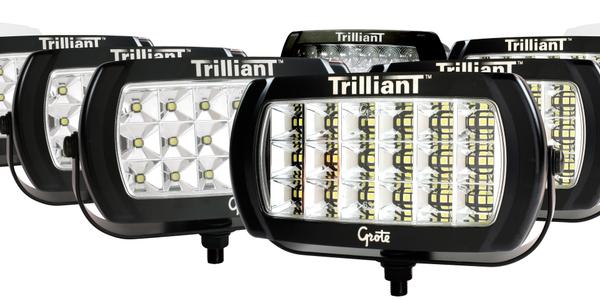 Trilliant LED WhiteLight Work Lamp Fire Truck, Ambulance & Workboat