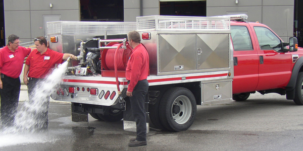 Strongback Fire Truck Body