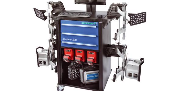 geoliner 320 Portable Imaging Wheel Aligner