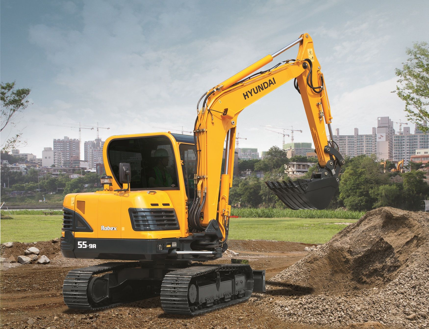 R55-9A & R55W-9A Excavators