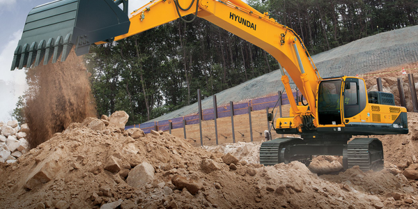 Hyundai 480LC-9A excavator