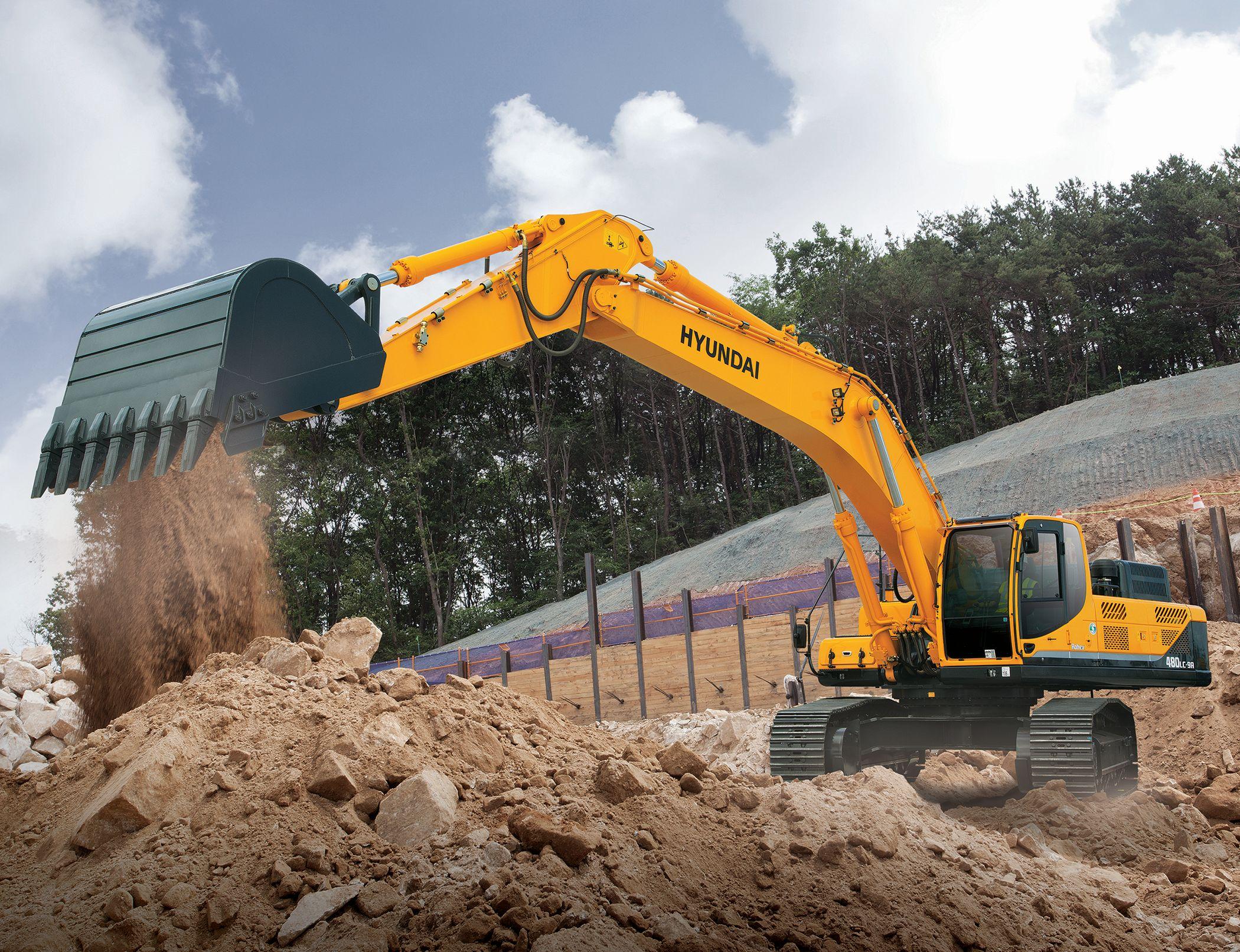 R480LC-9A & R520LC-9A Crawler Excavators