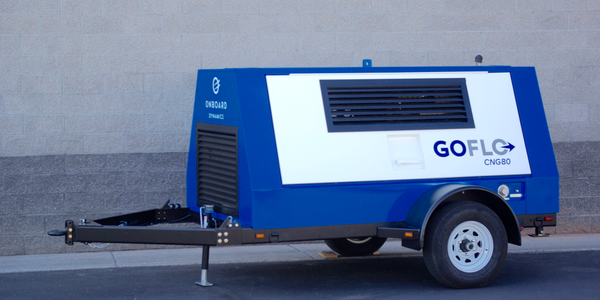 GoFlo CNG-80 Natural Gas Compressor