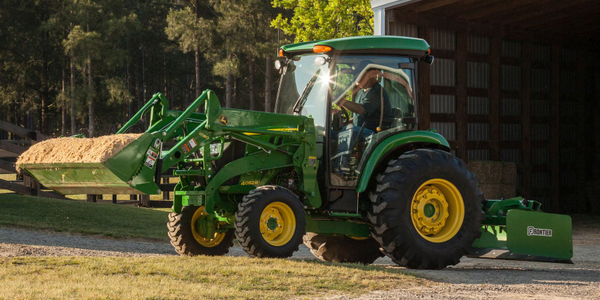 Pictured is the 4052R compact utility tractor. Photo courtesy of John Deere