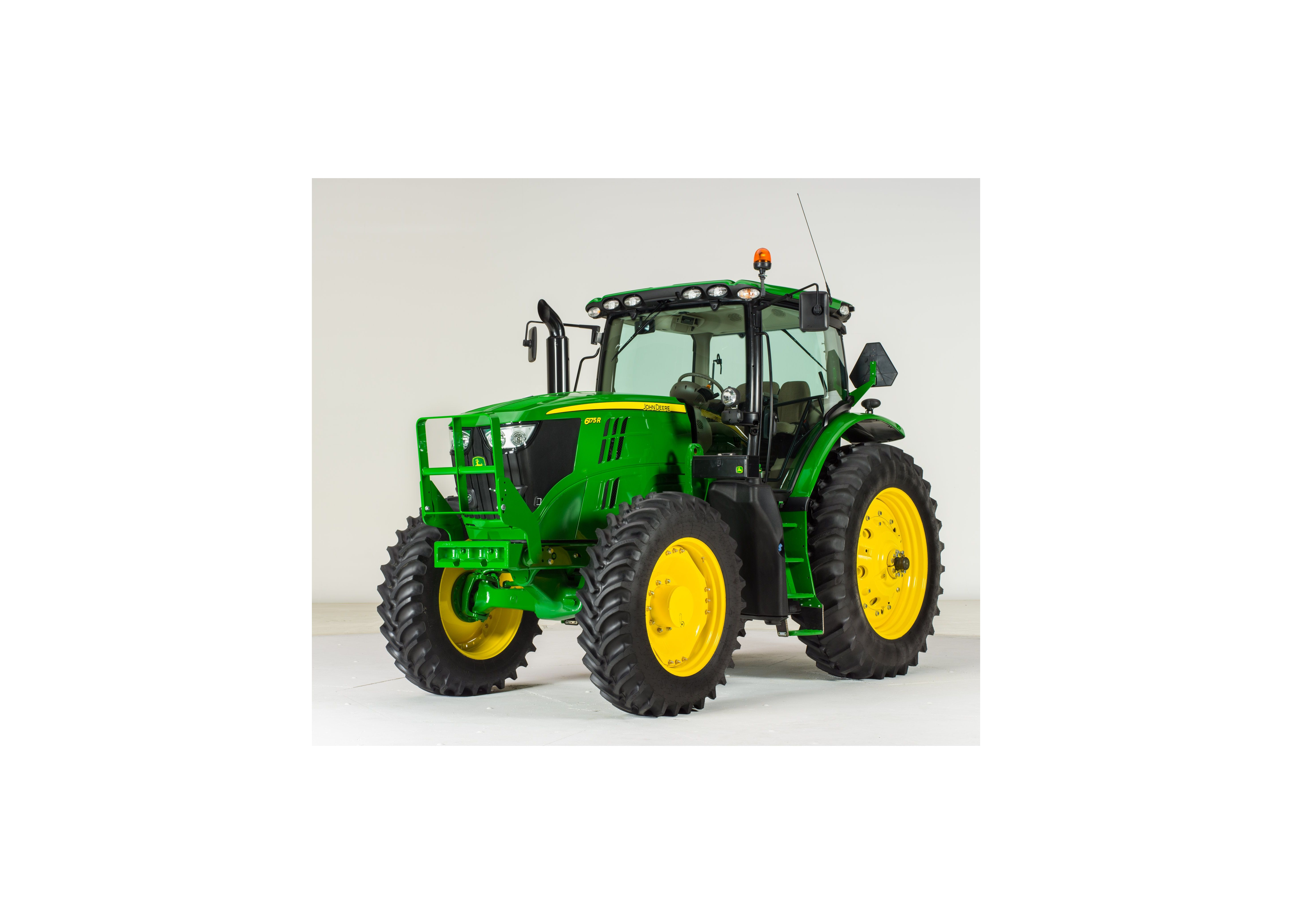 6D and 6R Series Tractors