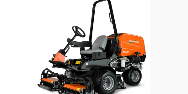 Phot of JacobsenTR320 trim mower courtesy of Textron