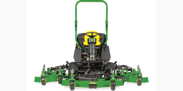 John Deere's updated 1600 Turbo Series III Wide-Area Mower. Photo courtesy of Deere