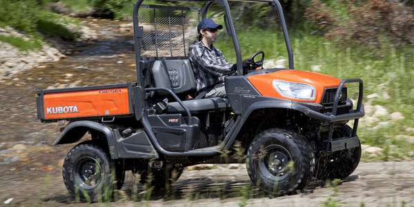 The RTV-X900 is equipped with a 21.6 hp diesel engine, standard 4WD, and standard hydraulic...
