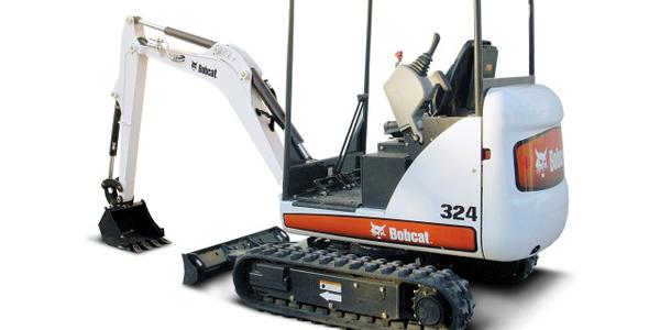 Bobcat 324 compact excavator