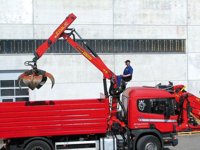 EPSILON Timber & Recycling Crane