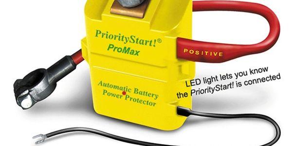 PriorityStart! Battery Drain Prevention Device