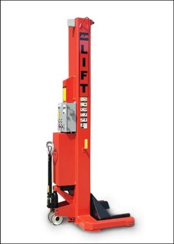 WE-18 Wheel Engaging Mobile Lift