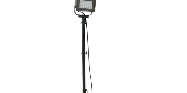 Adjustable LED Light Tower for Hazardous Location Use