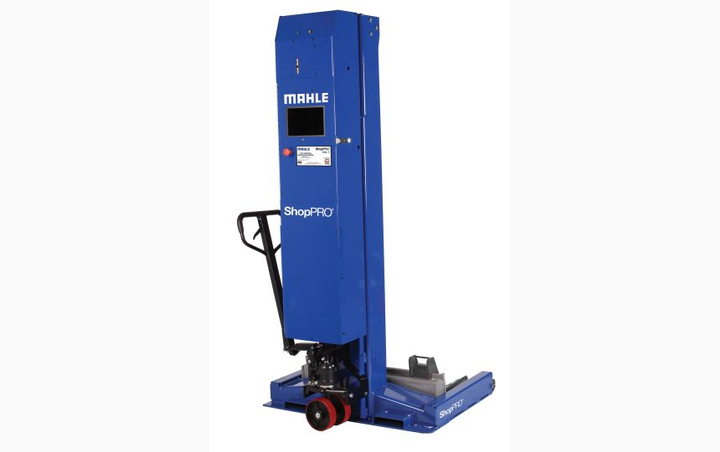 Photo ofShopPRO Commercial Wireless Mobile Column Lift courtes of MAHLE -