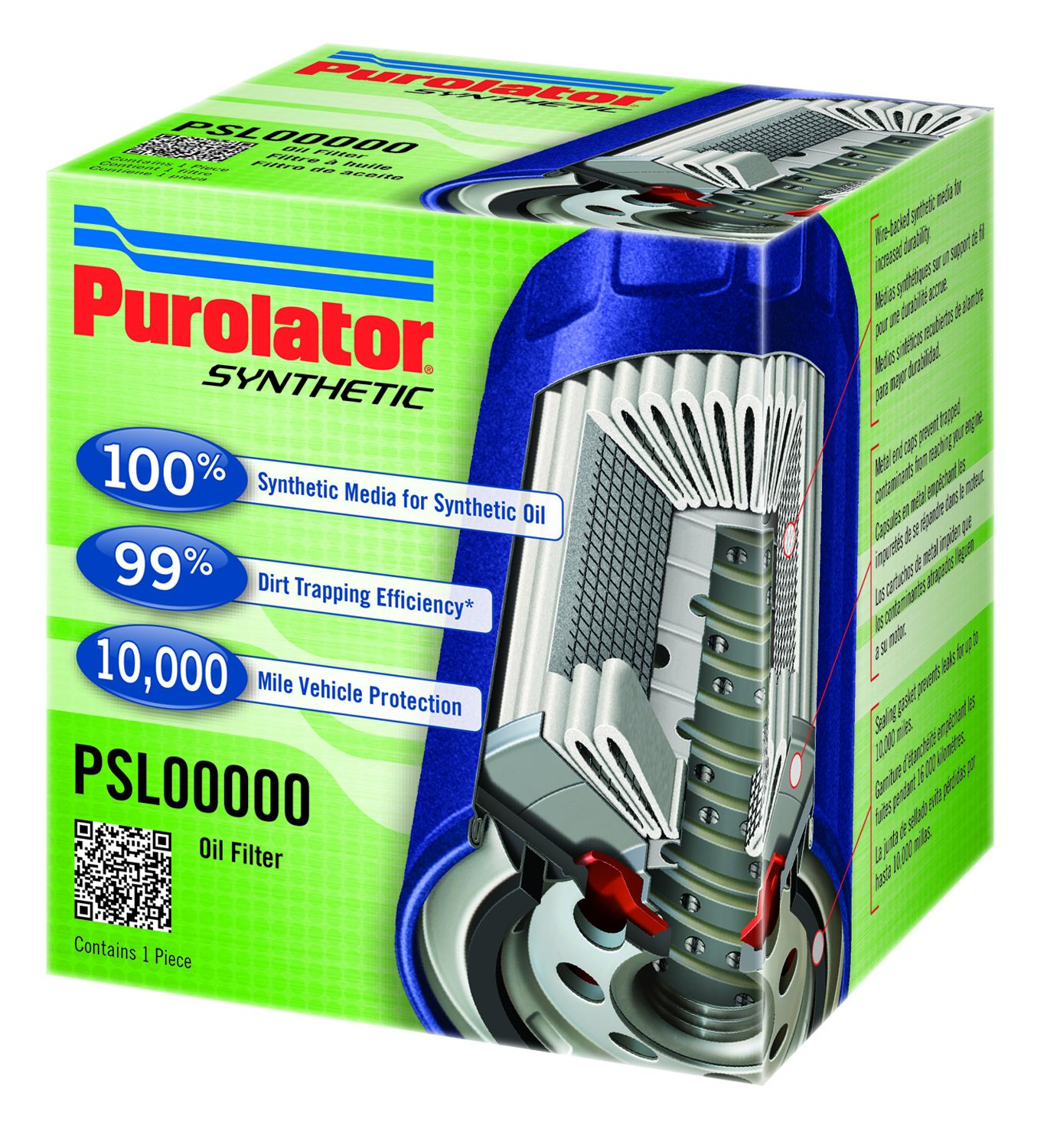 Synthetic Oil Filter Maintenance Government Fleet Purolator Fuel Filters